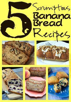 5 Yummy Banana Bread Recipes