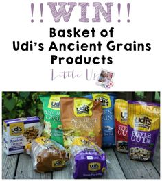 #Win Udi's Ancient Grains Prize Pack #giveaway #glutenfree