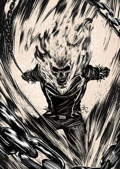 Ghost Rider on Behance