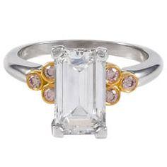 2.20ct Emerald Cut DIamond Ring