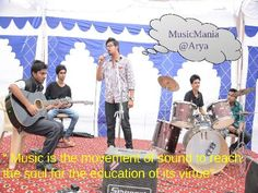 Music is the movement of sound to reach the soul for the education of its virtue .