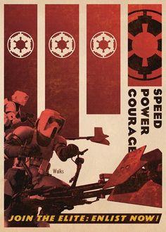 Star Wars Propaganda Poster 9