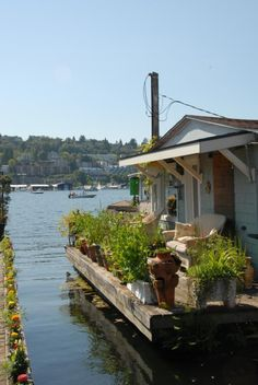 ❁ Home & Garden ❁: Maisons flottantes à Seattle