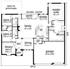 First Floor 1289 Lodgepole Log Home Plan Dream Home Pinterest