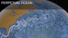 Watch surface currents circulate in this high-resolution, 3D model of the Earth's oceans.