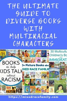 The Ultimate Guide to Diverse Books with Multiracial Characters Biracial Children, Award Winning Books, Black Characters, Mixed Race, Lifestyle Group, Toddler Preschool, Happy Kids, Story Time, Parenting Advice
