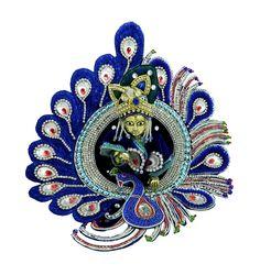 Blue Elegent Designer Laddu Gopal Dress