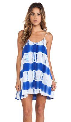 JARLO Bridgette Dress in Blue