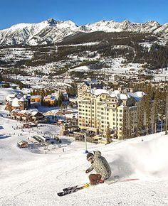 Best Affordable Ski Resorts - Discover Montana winter adventure at Big Sky. You'll find plenty of snowy fun! Montana Winter, Big Sky Montana, Ski Montana, Ski Vacation, Vacation Spots, Big Sky Ski, Big Sky Resort, West Yellowstone, Best Ski Resorts
