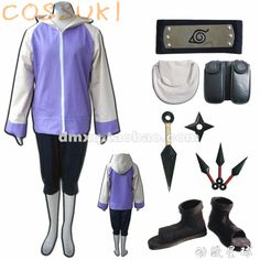 Hyuga Hinata Full Set Cosplay Costume Suits only $96.00 Naruto Fan Store Very Awesome! ! Like and share! Get yours here http://narutofanstore.com #naruto