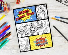 Blank comics with various templates for children and adults. A set of the best and most used templates by professionals. A simple symmetrical arrangement of panels makes it great for any type of comic. The non-accidental arrangement of panels makes drawing comics easier. The variety of templates makes drawing more fun, stimulates creativity and gives hours of fun. Ideal for beginners and experienced artists. In each of us there is a small artist who is just waiting to be able to draw his…
