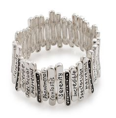 http://pearlperri.com/products/fenced-in-positivity-engraved-silver-lining-metal-art-stretch-bracelet