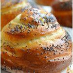 Fotorecept | Briošky - NajRecept.sk Czech Recipes, Russian Recipes, Bunt Cakes, Happy Foods, Bread Rolls, Sweet And Salty, Sweet Desserts, Food To Make, Good Food