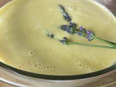 Lavender and Wildflower Honey Creme Brulee · Laurie Bakke's Kitchen Custard Sauce, Vanilla Custard, Dried Lavender Flowers, Lavender Honey, Five Ingredients, Make Ice Cream, Fruit Tart, Creme Brulee, Food 52