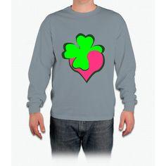 Shamrock Clover St Patrick's Day- saint patrick day shirts Long Sleeve T-Shirt