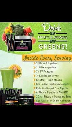 Benefits of greens