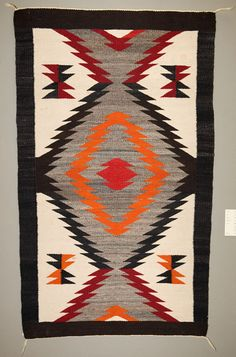 Navajo Rug. These rugs are so beautiful. I want one in my house one day.