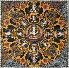 Avalokitesvara mandala