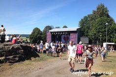 slottsfjell festival in tønsberg, norway