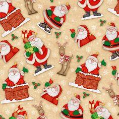 Santa background paper