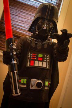 quasi-DIY Darth Vader costume