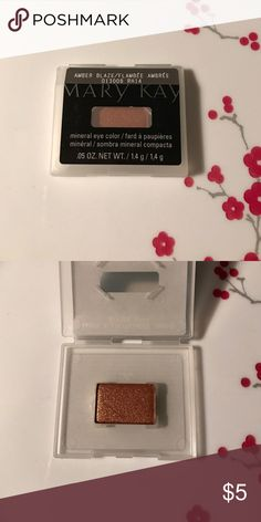 Never Used.Mary Kay Mineral Eye Color.Amber Blaze Never Used.Mary Kay Mineral Eye Color.Amber Blaze Mary Kay Makeup Eyeshadow