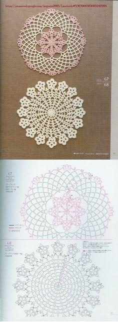 Crochet Lace Doily Motif