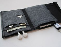 Nerd Herder gadget wallet in Suited Up iPod Droid by rockitbot, $36.00