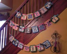 Toy Story Birthday Banner  Woody Buzz  Party Decor by JLMpartyshop, $32.00