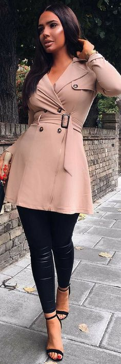 Autumn Trench Coat – Fall Outfit Idea by Courtney
