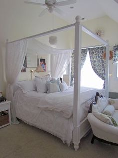 DIY Bed Canopy With A Little Help From Ana White