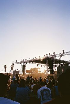 I want  to play at least one musical festival in my lifetime.