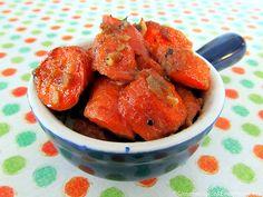 Roasted Lemon Garlic Ginger Carrots