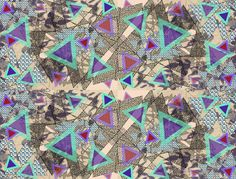 Abstract Patterns 2012 by Vasare Nar, via Behance
