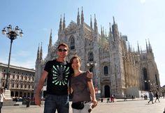 Mochilão de Ernesto Junior em 2011 para a Itália quando paletou por Milão, Firenze, Pisa, Parma e Bologna.