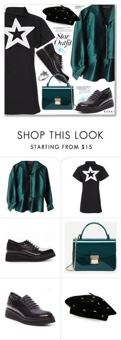 """""""Casual Chic Twinkle, Twinkle: Star Outfits"""" by jecakns ❤ liked on Polyvore featuring MARC CAIN, KTZ, Steve Madden and Allurez"""