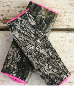 Mossy Oak Camo with pink minky Car seat strap by SqueakyBugBabies, $7.00