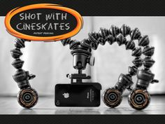 CineSkates Camera Sliders by Cinetics //