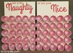Naughty or Nice Christmas Game is perfect for a large group and everyone will be laughing. Start your Christmas tradition!