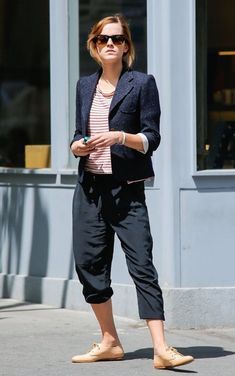 Emma Watson shops in New York City, New York on May 7, 2013.