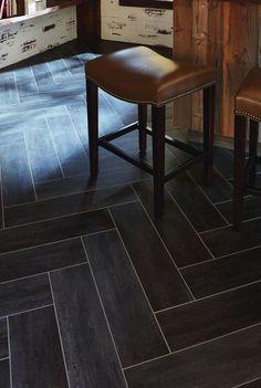 Gray Tile Love The Tile Baseboard Bathroom Pinterest