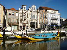 Barcos Moliceiros, Ria de Aveiro