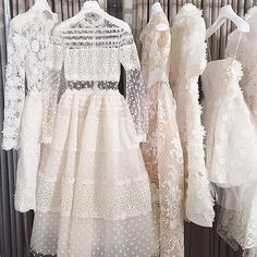 Dreaming of soft, airy, cloud coloured dresses on this overcast day ☁️☁️☁️☁️☁️☁️☁️☁️☁️☁️