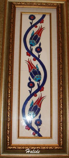 çini lale desenleri - Google'da Ara Turkish Design, Turkish Art, Pottery Painting, Silk Painting, Traditional Paintings, Traditional Art, Textures Patterns, Print Patterns, Pottery Patterns