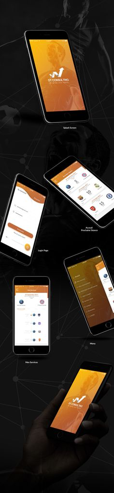 """Check out my @Behance project: """"DT Consulting - App Abonné"""" https://www.behance.net/gallery/58302529/DT-Consulting-App-Abonne"""