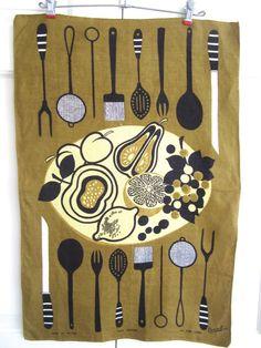 Vintage EAMES de mediados del siglo la toalla frutero por NeatoKeen, $32.00