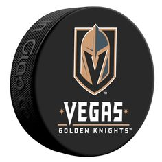 534ec696 vegas golden knights hockey pucks | Sher-Wood Vegas Golden Knights Hockey  Puck Vegas Golden