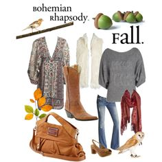 Fall boho, created by torioh on Polyvore