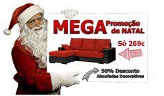 A MEGA Promoção de Natal chegou.  E traz consigo uma grande novidade... Fiquem atentos!!! www.sofasbombasticos.pt
