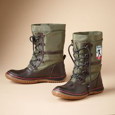 Pajar's Mountain Low Boots. I want them!